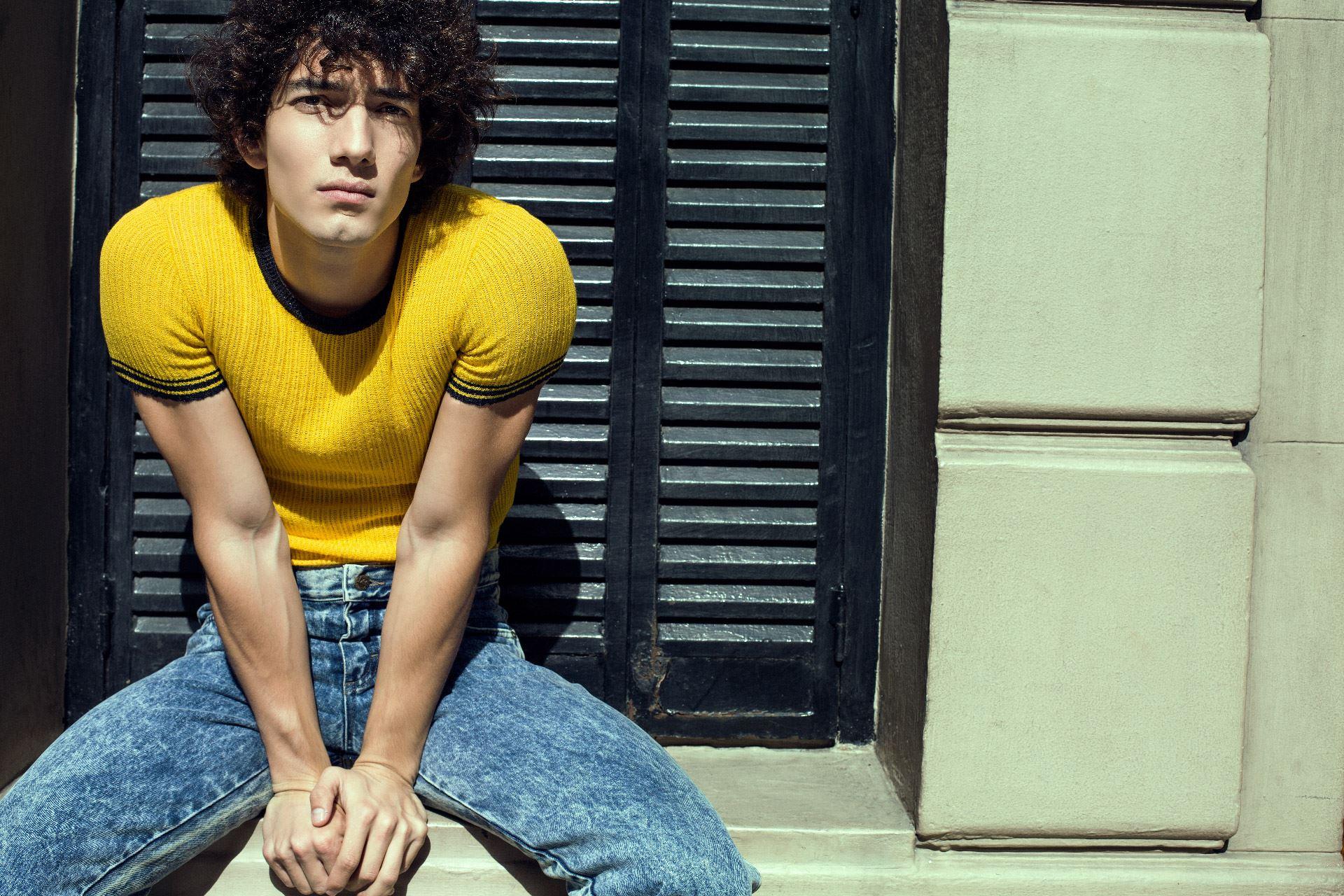jorge lopez actor modelo chile argentina moda